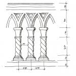 获奖建筑师 – 设计手稿图-柱式